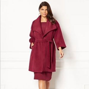 NY & Co Delfina Wrap Coat, XS